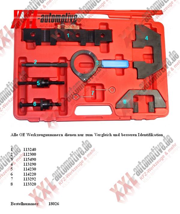 Original Vergleichsnummer für das BMW M40 M41 M42 M43 M50 M51 und M52 Steuerzeiten Spezialwerkzeug