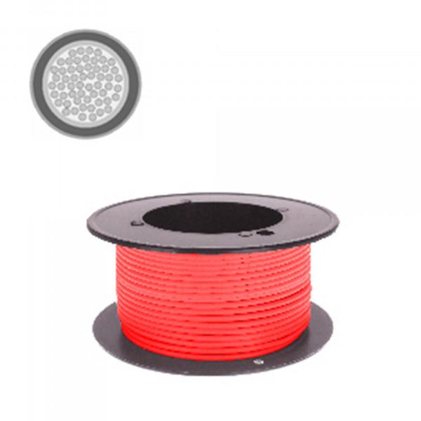 Kabel 0,75 qmm rot