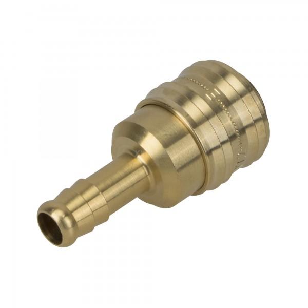 Druckluft Kupplung NW 7,2 mit Schlauchtülle LW 9