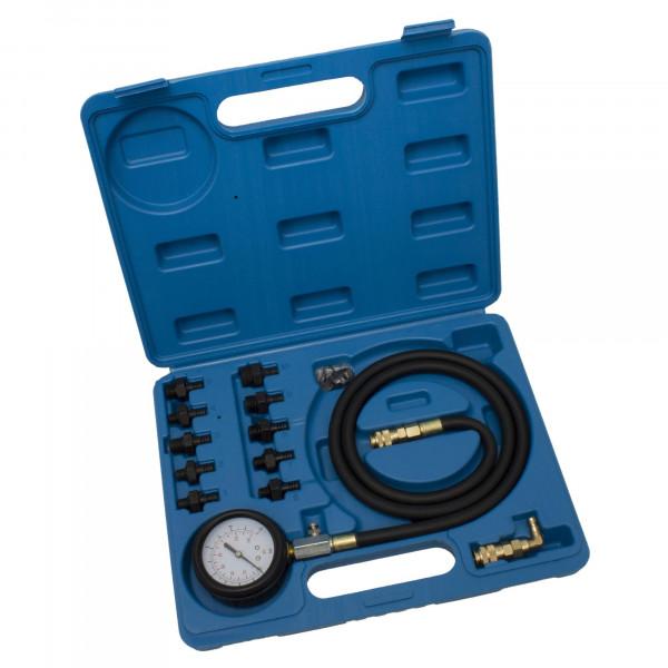 Universal Öldrucktester / Öldruckprüfer, 0-10bar, 12-tlg.