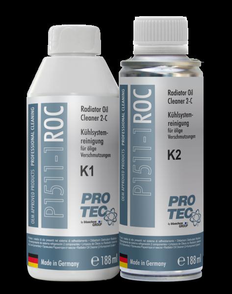 Kühlsystemreiniger für Ölige Verschmutzungen 2-K 188ml/Komponente 376ml Kunststoffflasche, Dose