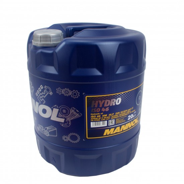 Mannol Hydrauliköl Hydro ISO HLP 46 VDMA 24318 DIN 51524 20L