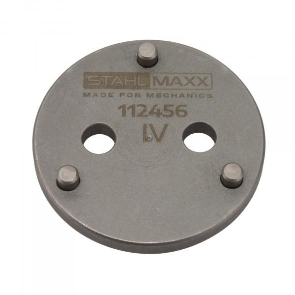 Bremskolbenadapter 3-Pin für HA Elek. Handbremse Audi, BMW, Ford, Renault, Volvo, VW