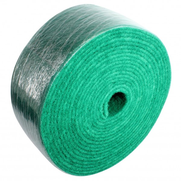 Indasa Nylon Web medium, Rolle 115mm x 10m, green