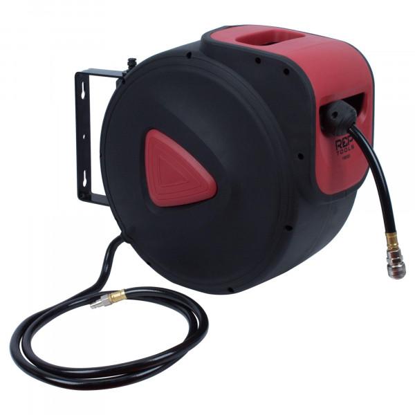 Druckluftschlauch Aufroller Automatik 30 m, 9,5 mm Innendurchmesser