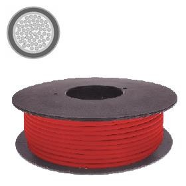 Kabel 4,0 qmm rot