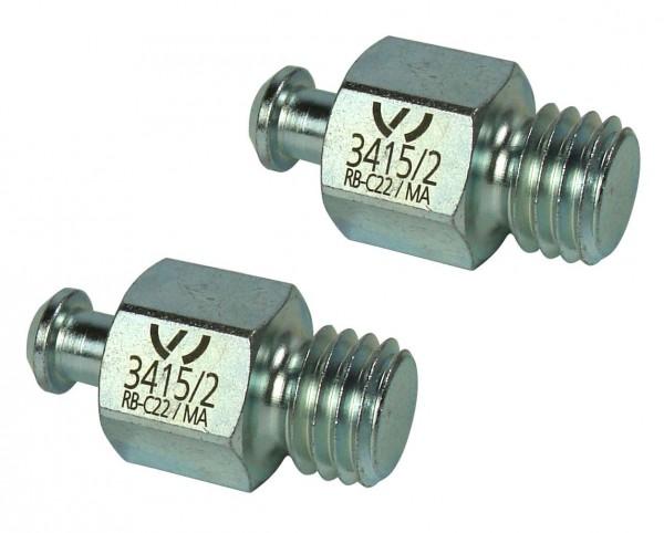 Adapter (Satz = 2 St.) 3415 /2 Original VW Spezialwerkzeug