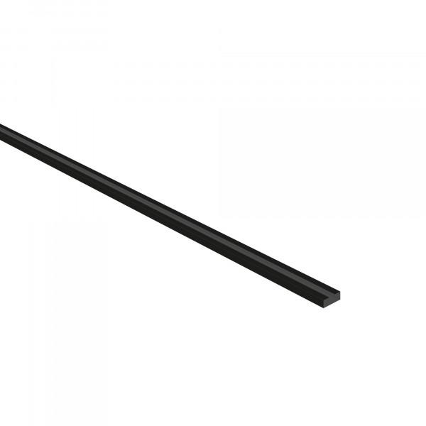 Endschiene, schmal mit einfacher Lochung, 45 x 1954 x 15 mm (B x H x T)