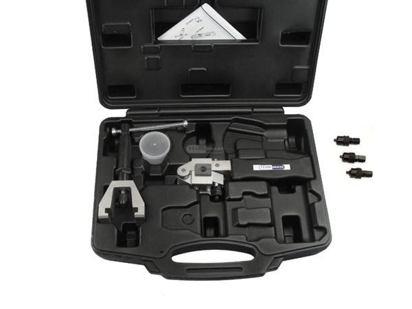 Bördelgerät für Bremsleitung inkl. Fetthydraulikspindel - Leihwerkzeug