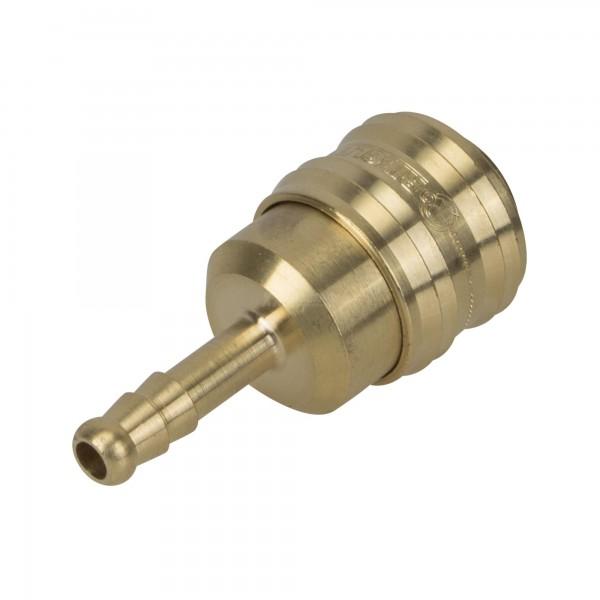 Druckluft Kupplung NW 7,2 mit Schlauchtülle LW 6