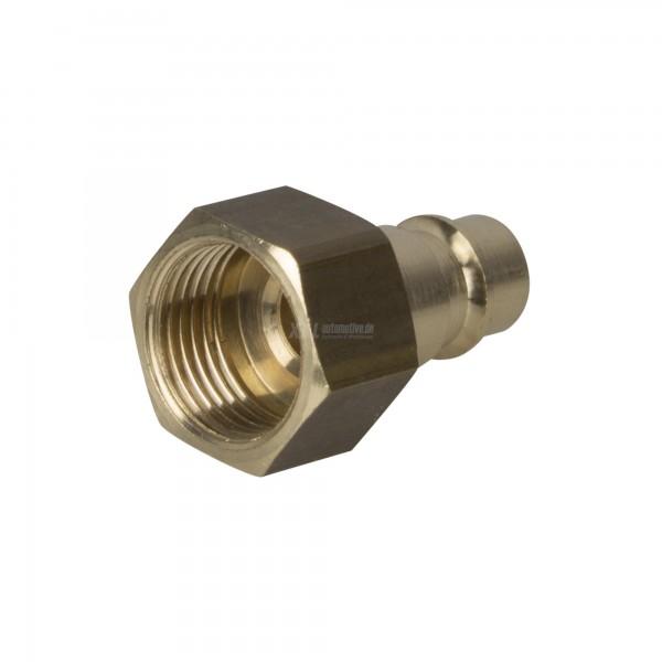 """Druckluft Stecker / Kupplungsstecker NW 7,2 mit Innengewinde 3/8"""" Zoll"""