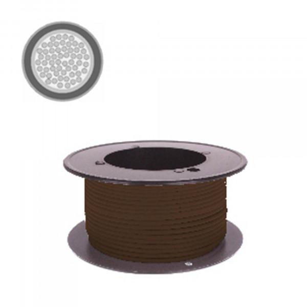 Kabel 2,5 qmm braun