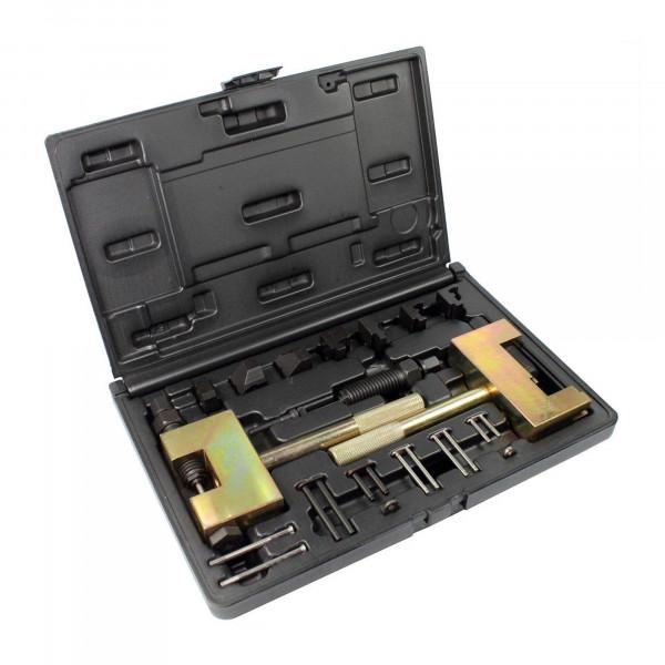 Nietwerkzeug für Doppel und Einfach Steuerketten f. Benzin u. Diesel - Leihwerkzeug
