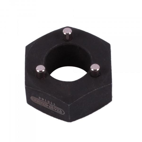 Steckschlüssel Einsatz SW 38mm, 3pin für Lichtmachinen Generatorfreilauf