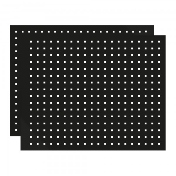 Lochwand / Werkzeugwand, 2-tlg. für Eck-Schrank