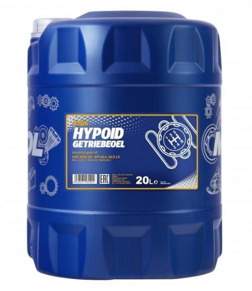 Mannol Hypoid Getriebeöl 80W-90 GL4 GL5, 20L