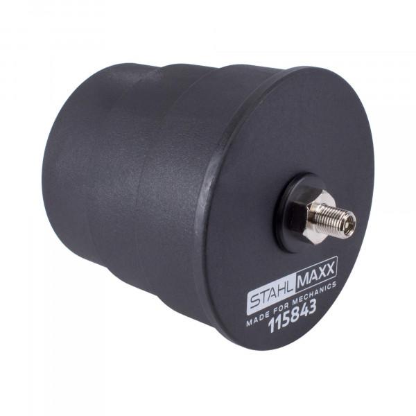Turbo Prüf Adapter mit Abstufung 65 - 70 - 75 mm