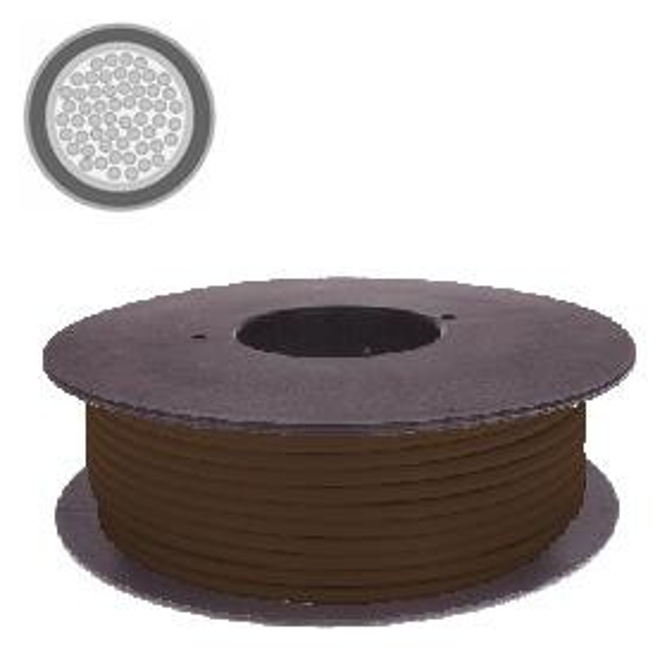 Kabel 4,0 qmm braun