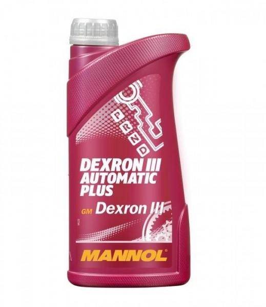 Getriebeöl Dexron III ATF MANNOL Automatic Plus Automatikgetriebe Öl Servoöl 1L