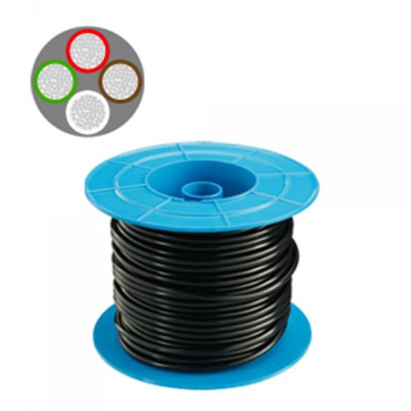 Kabel, 4-adrig x 1,5 mm², 1 m