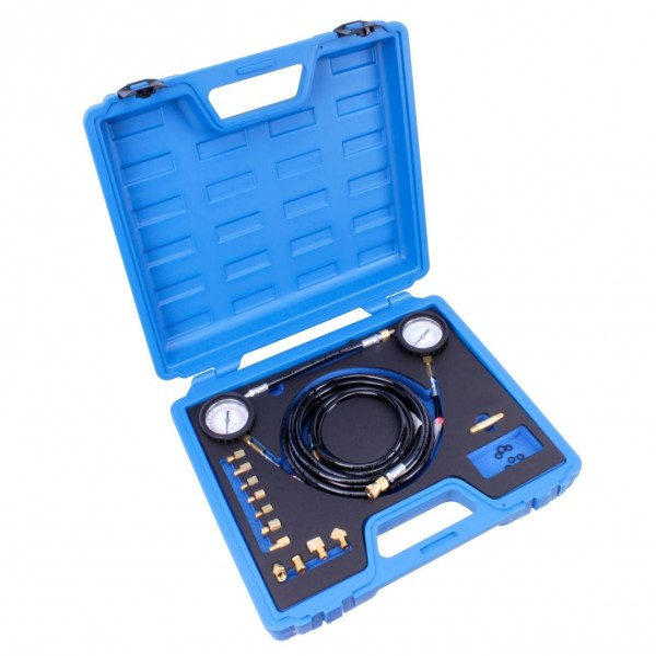 Getriebe-Druckprüfer inkl. 9 Adapter und 4 Winkelschraubstücke