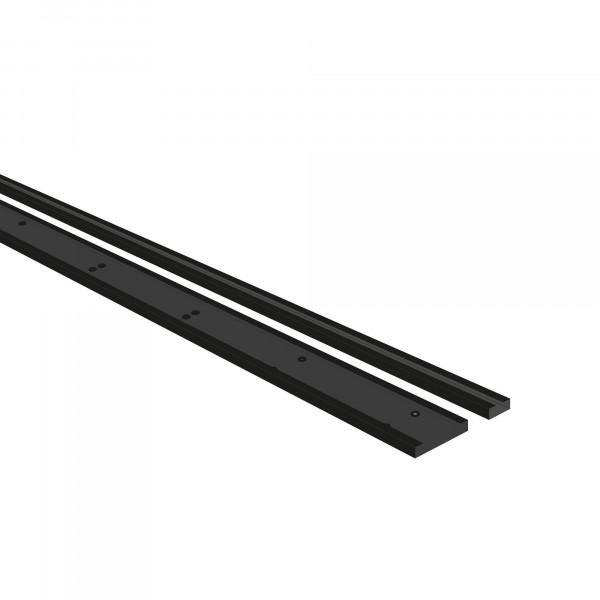 Befestigungsschienen-Set, 2-tlg. für Eck-Schrank 45 x 1954 x 15 mm / 105 x 1954 x 15 mm (B x H x T)