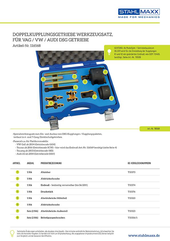 Doppelkupplungsgetriebe DSG 6-/7-Gang wie T10323, T10373, T10374, T10376
