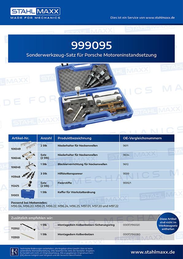 Produktinformationen Porsche Motoreninstandsetzung